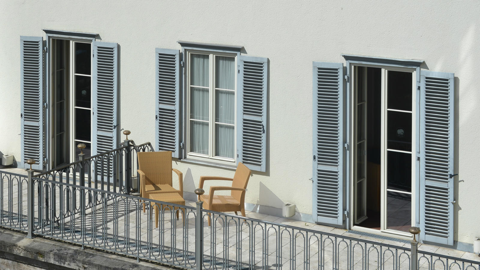 Balcony rooms at the Hotel Elephant Weimar